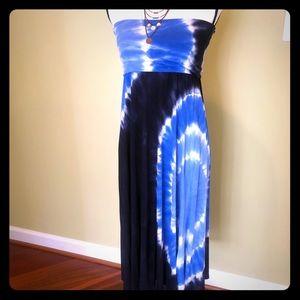 INC convertible tie dye dress - skirt in Size L